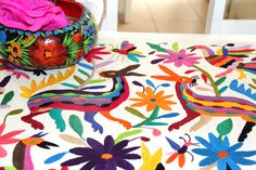 Mexican Hand Embroidery turned Fashion and homewares – Casa Otomi