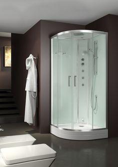 Una cabina #doccia multifunzione, con tutti i comfort di una spa a prezzi contenuti: è Evo Basic di Grandform!  #benessere #wellness #homespa