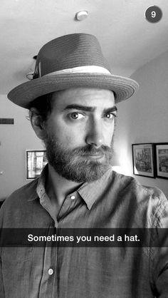 OMG Rhett is wearing a Patrick Stump hat. I Have A Crush, Having A Crush, Freaking Hilarious, Super Funny, Good Mythical Morning, Lifelong Friends, Dumb Jokes, Let Them Talk, Hats For Men