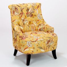 One of my favorite discoveries at WorldMarket.com: Amber Blossom Erin Chair. Love the colors