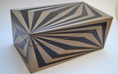 Jewellery box in straw marquetry by Violeta Galan, Stand G28, Hall T1, Tent London 2013, www.violetagalan.co.uk/