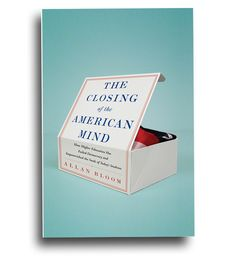 unused comp - The Closing of the American Mind | book jacket design by Christopher Lin #book_cover #box