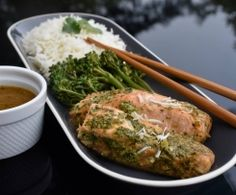 Our Favorite Salmon All-in-one meal!