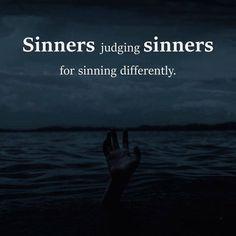Sinners judging sinners.. via (http://ift.tt/2rboQE8)