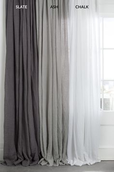 5 Prodigious Tips: Linen Curtains Blackout printed velvet curtains.Door Curtains Design mirror and curtains headboard. Shabby Chic Curtains, Farmhouse Curtains, Home Curtains, Rustic Curtains, Curtains Living, Modern Curtains, Apartment Curtains, Window Curtains, Grey Curtains Bedroom