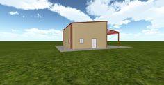 3D #architecture via @themuellerinc http://ift.tt/2riNhzb #barn #workshop #greenhouse #garage #DIY