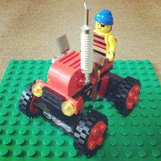 パパと娘の合作LEGO「森林トラクター」