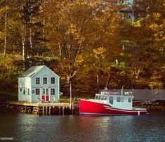 Early morning Autumn sunlight in Boutilier's Cove, Nova Scotia, Autumn, Fall, Early Morning, Sunlight, Mansions, House Styles, Home Decor, Decoration Home
