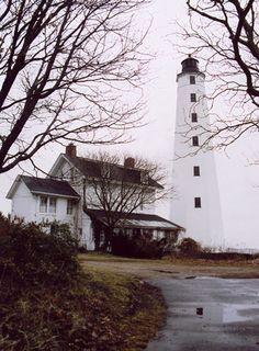 Lighthouse - New London Harbor, Connecticut, USA