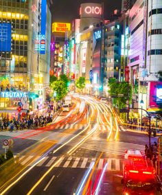 """""""SHIBUYA RUSH HOUR"""" by Note Vichayut // I miss this place."""