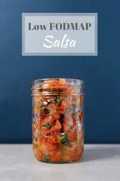 Low FODMAP salsa - looks good, think I'll swap out the parsley and lemon juice with cilantro and lime juice