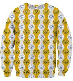 Finn&Jake Smile sweater, Mr. GUGU & Miss GO
