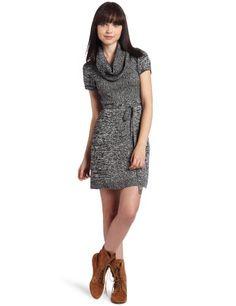 My Michelle Juniors Space Dye Sweater Dress $16.38