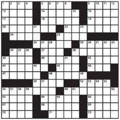 Crossword Puzzles to keep the mind young