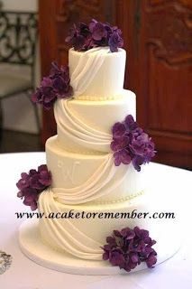 How to charge for the decorations on your wedding cakes. Keeping track of your time can help you estimate the cost of the decorations when you're working up estimates for your cake customers. Wedding Cakes With Flowers, Elegant Wedding Cakes, Wedding Cake Designs, Wedding Ideas, Candy Cakes, Cupcake Cakes, Cupcakes, Pretty Cakes, Beautiful Cakes