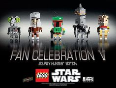 LEGO CubeDude Bounty Hunter Collection - Free PDF Instructions
