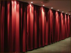 acoustic curtains - sound dampening / reverberation