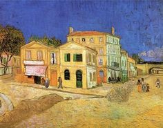 Vincent van Gogh, Vincent's House in Arles - The Yellow House