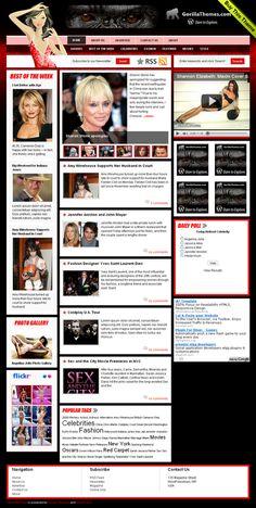 CelebrityPress by Gorillathemes