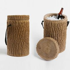 #urbandeer Giveaway! Enter now for a chance to win this new favorite - a super cool stump cooler.