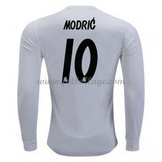 buy popular e03a2 7dd47 Fotbollströjor Real Madrid 2018-19 Modric 10 Hemmatröja Långärmad Real  Madrid, Fotboll