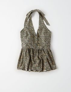 Shop Women's Sleeveless Shirts at American Eagle to find your new favorite fit. Browse sleeveless shirts for women in new colors, fabrics, and prints today! Cute Summer Outfits, Spring Outfits, Casual Outfits, Cute Outfits, Fashion Outfits, Fashion 101, American Eagle Dress, American Eagle Sweater, Country Outfits