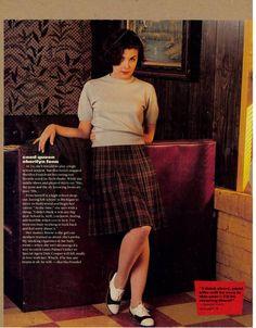 Audrey Horne (Sherilyn Fenn in Twin Peaks).