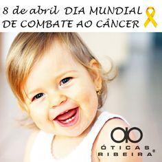 No Dia Mundial de Combate ao câncer, lembramos da importância de realizar um exame oftalmológico nas crianças nos primeiros anos de vida, a fim de prevenir o Retinoblastoma, um tumor maligno que pode se desenvolver na retina nos primeiros anos de vida! Confira a matéria completa em nosso blog... http://oticasribeira.wordpress.com/2014/04/08/dia-mundial-de-combate-ao-cancer/  (Fonte: Dr. Drauzio Varella)