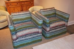 """Chic, colorful, and cleanable. Ellen Gefen of THE HOME states, """"Love this material used by CR Laine!"""" I wonder if she would love it more if she knew it was made using SUNBRELLA yarns. So you can clean up messes with soap and water ... even bleach if needed."""
