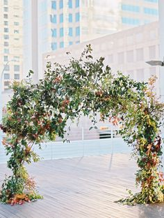 Photography : Ryan Ray Photography | Floral Design : Bows And Arrows | Event Planning + Design : Stefanie Miles Events | Venue : Brazos Hall Read More on SMP: http://www.stylemepretty.com/2016/03/03/modern-downtown-austin-wedding-with-17-stylish-bridesmaids/