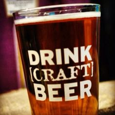 Drink Craft Beer