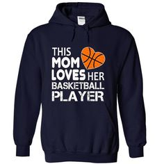 THIS MOM LOVE HER BASKETBALL PLAYER - #candy gift #bridal gift. GET YOURS => https://www.sunfrog.com/Birth-Years/THIS-MOM-LOVE-HER-BASKETBALL-PLAYER-1760-NavyBlue-16220430-Hoodie.html?68278