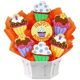 Birthday Gift Basket: Cute as a Cupcake