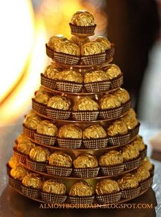 ferrero rocher pyramid - Google Search
