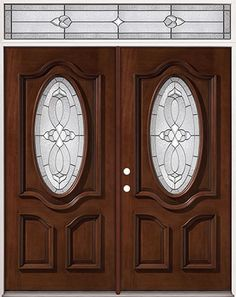 Estate Exterior Wood Front Entry Door Style Dbyd 1020