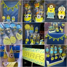 Minions Sweet table
