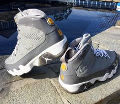 the best attitude a3db1 cd6b4 Check Out This Air Jordan 9 Cool Grey Kobe Bryant PE