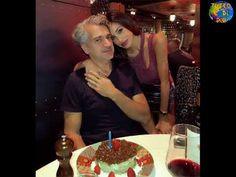 Belen Rodriguez festeggia il compleanno di papà Gustavo !! - YouTube
