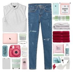 """""""come and see me / BRIGHT & FRESH"""" by omgjailah ❤ liked on Polyvore featuring Monki, WithChic, Davines, Mario Badescu Skin Care, Fujifilm, Christy, Sparco, The Body Shop, ASOS and A.P.C."""