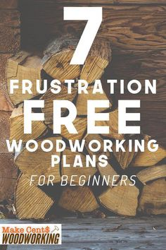 Woodworking Projects for beginners that actually work can be hard to find. Missing steps and confusing instructions can be a pain. Check out these 7 frustration free woodworking plans for beginners that will actually be fun to make for new DIY ers. Woodworking Projects That Sell, Woodworking For Kids, Popular Woodworking, Diy Wood Projects, Woodworking Crafts, Woodworking Shop, Woodworking Furniture, Woodworking Workshop, Woodworking Workbench