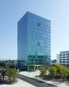 Burckhardt+Partner AG, Thomas Jantscher · New office building ABR 5 Roche · Divisare