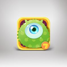 Moible game_rolling fruits on behance art inspiration game icon design, app Game Icon Design, Game Logo Design, App Design, Mobile Design, Mobile Icon, Mobile Game, Launcher Icon, Game Gui, Ios Icon