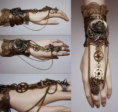 .the copper steampunk cuff  #womensfashion #copperaccessories #womenaccessories #hand #accessories
