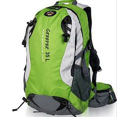 Pengfei 35-45L L Daypack   Backpack   Hiking   Backpacking Pack Camping    Hiking   Climbing   Traveling OutdoorWaterproof  5ac670543f059