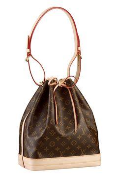 Louis Vuitton logo bucket bag