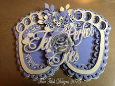 Ten Perfect Toes Card CraftROBO Cameo on Craftsuprint - Add To Basket!