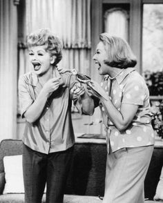 Lucille Ball & Vivian Vance ... The Lucy Show