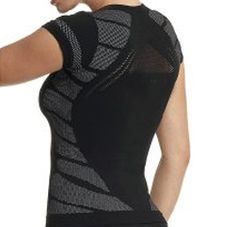Active Gear Netted Black Tee Wholesalers