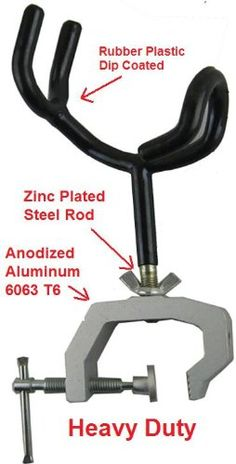 Fishing Rod Holder with Universal Clamp Mount at http://suliaszone.com/fishing-rod-holder-with-universal-clamp-mount/