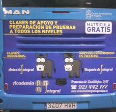 Academia Integral en bus Segovia.